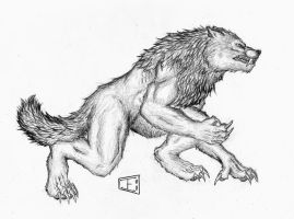 Snarly Werewolf by Howlitzer