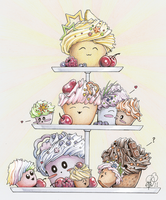 Cupcake Goodness by Aphilien
