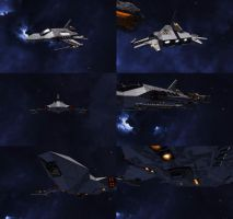 Space Engineers - Fighter-Bomber by Shroomworks