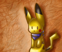 pikachu by Freckled-Kat
