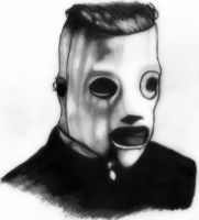 Slipknot - corey taylor, drawing by deathlouis