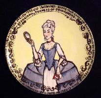 Rococo Corset Plate by janey-jane