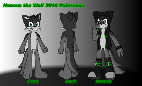 Nanous the Wolf Reference 2016 by Samladdy