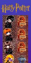 Harry potter straps by Nekkohime