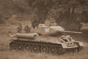 T 34 by stratael