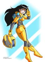Sailor Sun Spacesuit (color) by RedShoulder