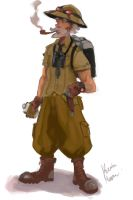 steampunk old scout by Kaoimhin7