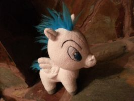 disney pegasus....my first plushy by NoMoreThanMe