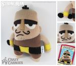 StrongMan Plush by ChannelChangers