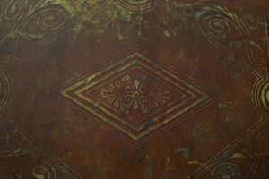 Tooled engraved leather by paintresseye