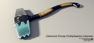 Diamond Force Multiplication Hammer by Snowfall-The-Cat