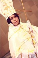 Trinity Blood: Pope by enchantingnocturne
