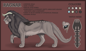 Ragnar refference sheet by Ragous