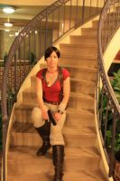 DragonCon 2010 - Stairs by GreenElfie