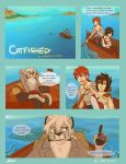 Catfished - Pg1 by WolfRocket