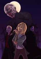 Buffy: the Vampire Slayer by ClaireyLaFudgeMonkey