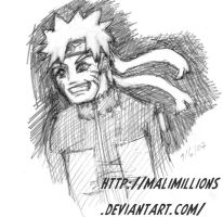 Naruto Doodle by malimillions