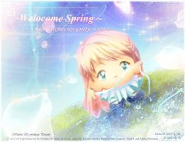 Welcome Spring by Kauthar-Sharbini