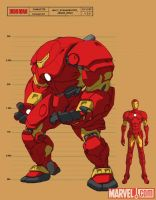 The Invincible Iron Man by Haseo1970