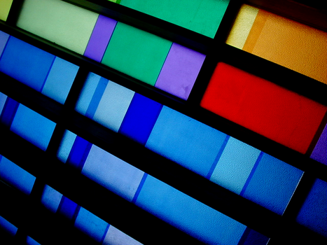 coloured glass by multipleskirts