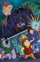 Trollhunters: For the Glory of Merlin and Friends by bayepaye