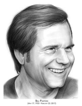 Bill Paxton 1955 - 2017 by gregchapin