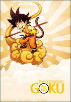 The Legendary Goku by Vidalokaon