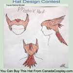 Contest Entry: Pheonix Hat by UnheardPoetic