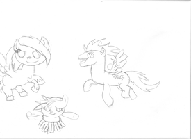 Flying Buddies by Firenation771