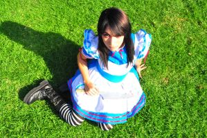 Alice Madness Cosplay by Leuxdeluxe