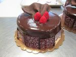 Chocolate Raspberry Cake by KattHack85
