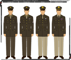 WWII U.S. Army Class A Uniform by Tounushifan