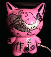 Japanese style Cat (back) by Alluune