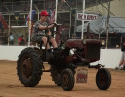 Farmall tractor by RedtailFox