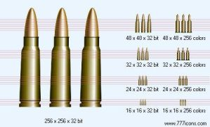 Ammunition Icon by military-icons