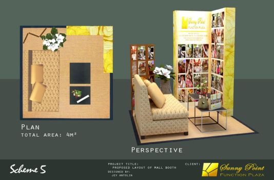 SUNNY POINT FUNCTION PLAZA MALL BOOTH - SCHEME 5 by rj-king