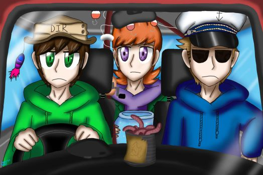 Eddsworld scene redraw by Technoloaf