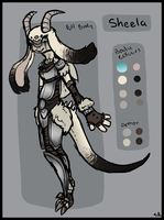 Sheela Ref by TheseWeirdFishes