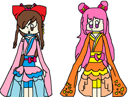 AT: Cure Lantern and Cure Chime by angelthewingedcat