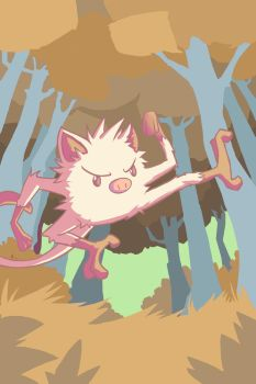 Mankey by Marcos-A-Rodrigues