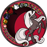 Immortal Rose - Stained Glass w/o effect by Bushinoohariko