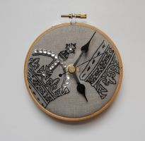 Regal Mini Wall Clock by MasonBee