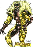 Sabretooth by kiborgalexic
