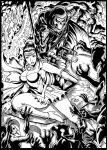 Inked: Rose and Stormmy by johnbecaro