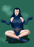 Fifty Fabulous Females: Raven by moon--crater