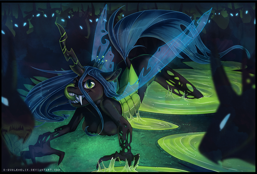 The Queen is Hungry by Helixel
