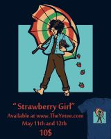 Strawberry Girl sale by khallion