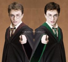 Harry Potter from Slytherin XD by Baira