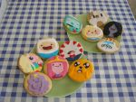 Adventure Time Cookie Set by green-butterflies
