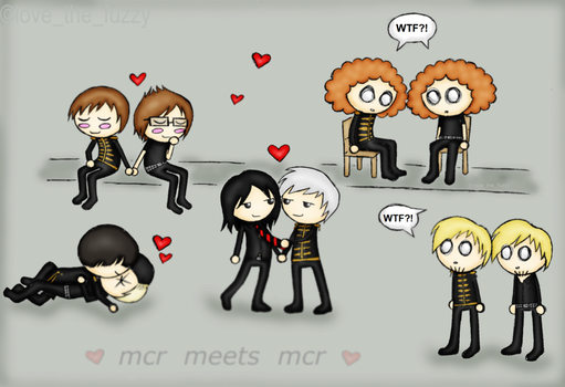 MCR meets MCR by love-the-fuzzy